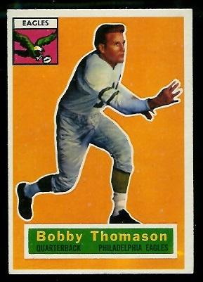 1956 Topps #100 - Bobby Thomason - exmt+