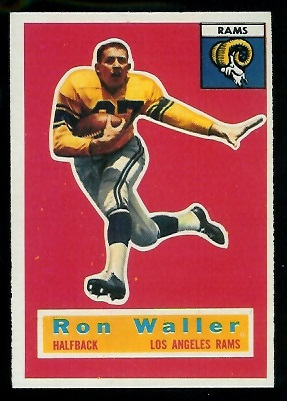 1956 Topps #102 - Ron Waller - nm