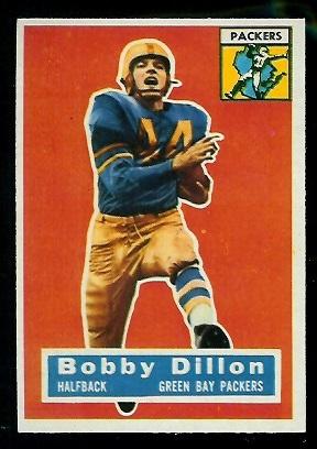 1956 Topps #103 - Bobby Dillon - nm
