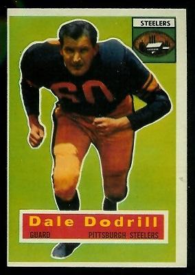 1956 Topps #111 - Dale Dodrill - nm oc
