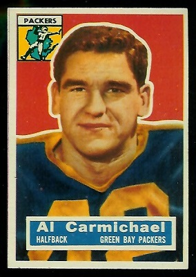 1956 Topps #115 - Al Carmichael - nm