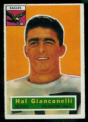 1956 Topps #16 - Harold Giancanelli - ex