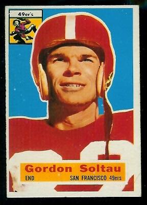 1956 Topps #2 - Gordon Soltau - ex