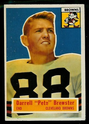 1956 Topps #21 - Pete Brewster - exmt