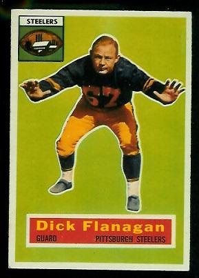 1956 Topps #27 - Dick Flanagan - ex