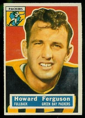 1956 Topps #31 - Howard Ferguson - ex