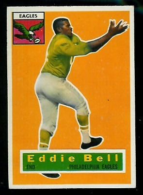 1956 Topps #4 - Eddie Bell - exmt