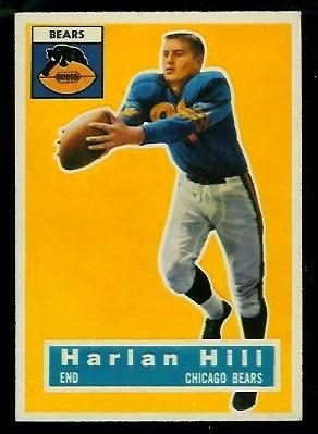 1956 Topps #59 - Harlon Hill - exmt