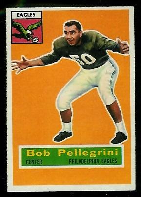 1956 Topps #64 - Bob Pellegrini - exmt