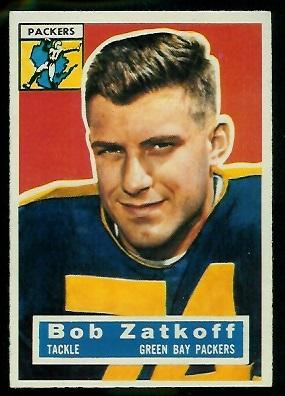 1956 Topps #67 - Roger Zatkoff - nm