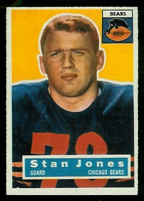 1956 Topps #71 - Stan Jones - exmt