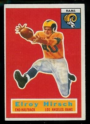 1956 Topps #78 - Elroy Hirsch - exmt
