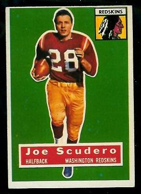 1956 Topps #85 - Joe Scudero - ex