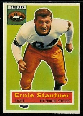 1956 Topps #87 - Ernie Stautner - nm oc