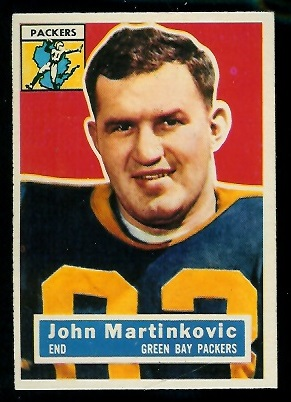 1956 Topps #91 - John Martinkovic - nm