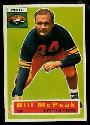 1956 Topps #99 - Bill McPeak - nm