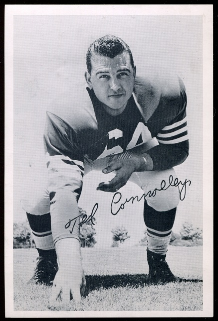 1957 49ers Team Issue #10 - Ted Connolly - exmt