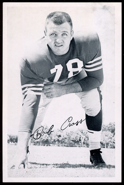 1957 49ers Team Issue #11 - Bobby Cross - exmt