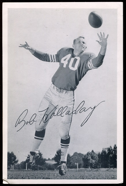 1957 49ers Team Issue #20 - Bob Holladay - vg-ex