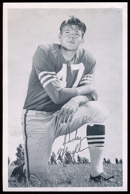 1957 49ers Team Issue #25 - Dick Moegle - exmt