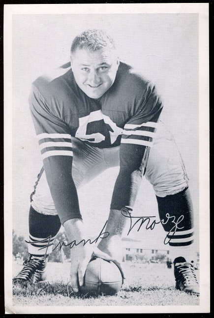 1957 49ers Team Issue #26 - Frank Morze - vg-ex