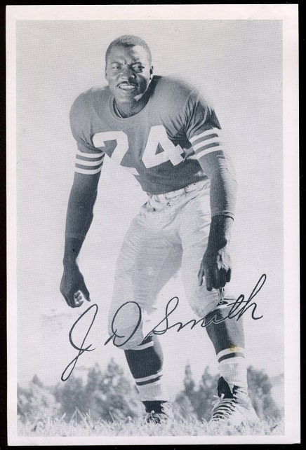 1957 49ers Team Issue #34 - J.D. Smith - exmt