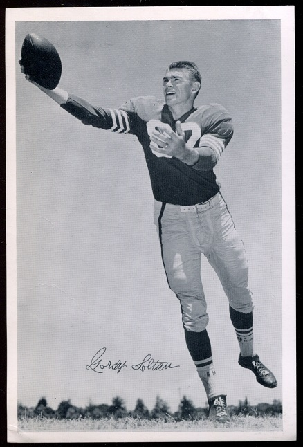 1957 49ers Team Issue #35 - Gordon Soltau - ex