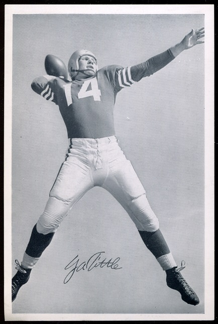1957 49ers Team Issue #38 - Y.A. Tittle - nm