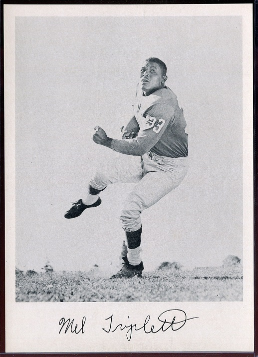 1957 Giants Team Issue #30 - Mel Triplett - nm