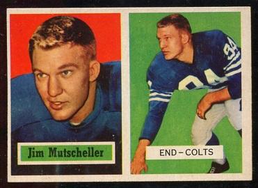 1957 Topps #103 - Jim Mutscheller - nm