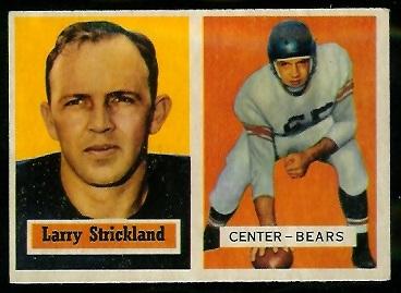 1957 Topps #105 - Larry Strickland - exmt