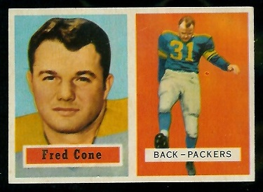 1957 Topps #107 - Fred Cone - nm
