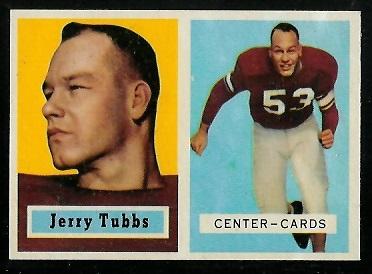 1957 Topps #125 - Jerry Tubbs - nm