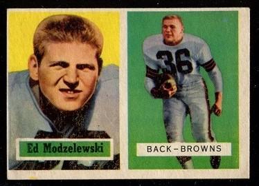 1957 Topps #127 - Ed Modzelewski - exmt