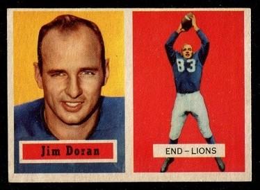 1957 Topps #131 - Jim Doran - nm