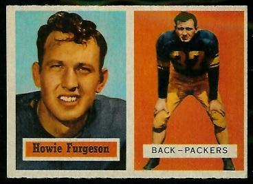 1957 Topps #132 - Howard Ferguson - exmt
