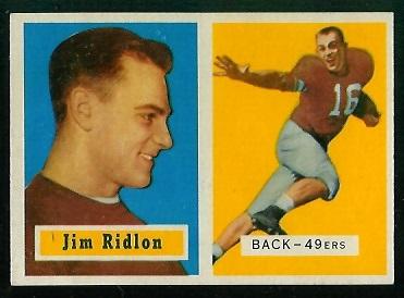 1957 Topps #139 - Jim Ridlon - nm