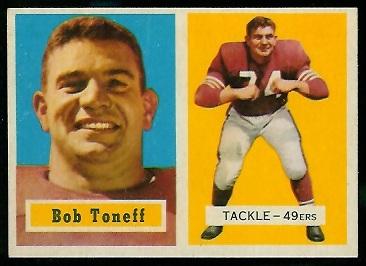 1957 Topps #148 - Bob Toneff - nm