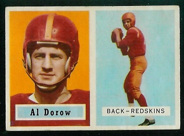 1957 Topps #24 - Al Dorow - exmt