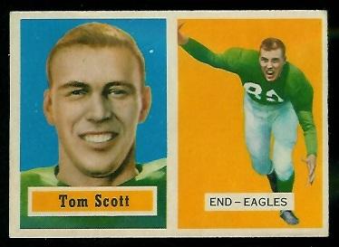1957 Topps #25 - Tom Scott - ex