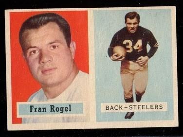 1957 Topps #27 - Fran Rogel - nm