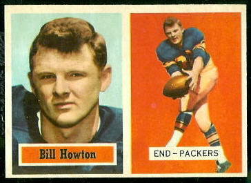 1957 Topps #33 - Bill Howton - nm-mt oc