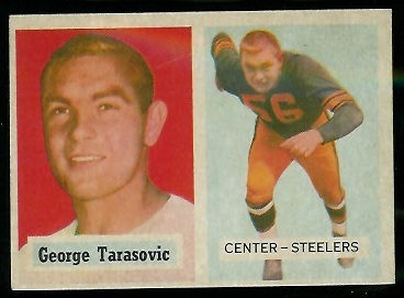 1957 Topps #39 - George Tarasovic - nm oc