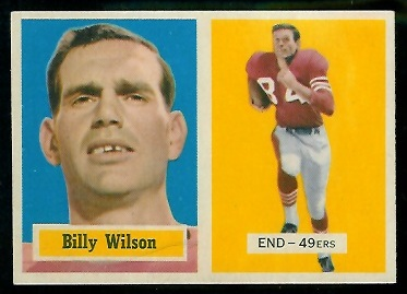 1957 Topps #42 - Billy Wilson - nm