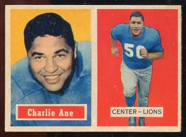 1957 Topps #56 - Charlie Ane - nm+