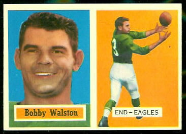 1957 Topps #61 - Bobby Walston - nm