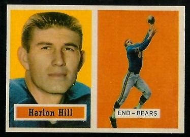 1957 Topps #67 - Harlon Hill - nm