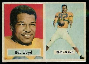 1957 Topps #70 - Bob Boyd - nm