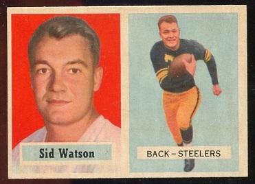 1957 Topps #75 - Sid Watson - nm