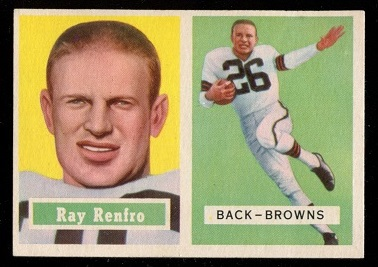 1957 Topps #76 - Ray Renfro - nm
